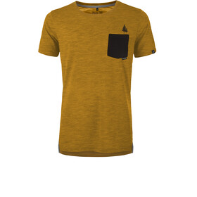 Pally'Hi Pocket Tree T-shirt Heren, heather sundance